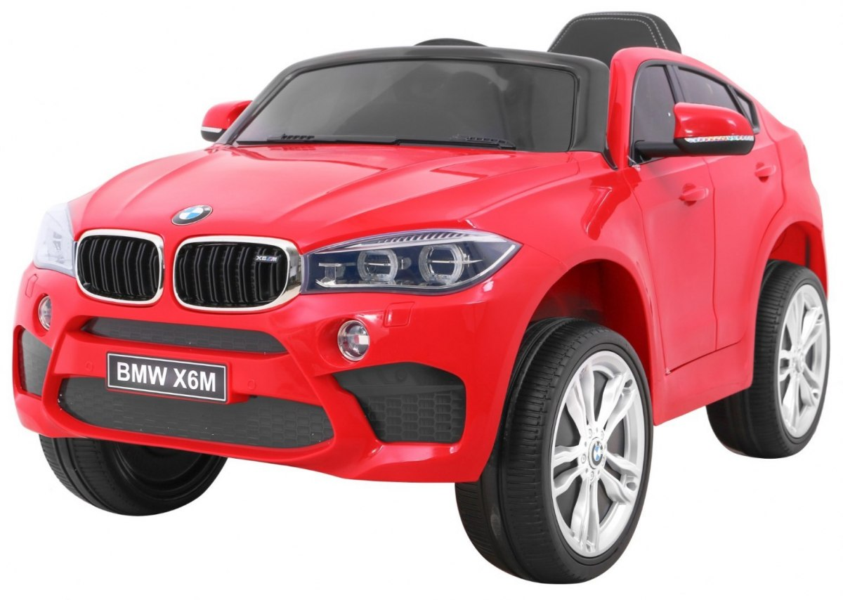 RKToys BMW X6M Dětské elektrické auto - Červená
