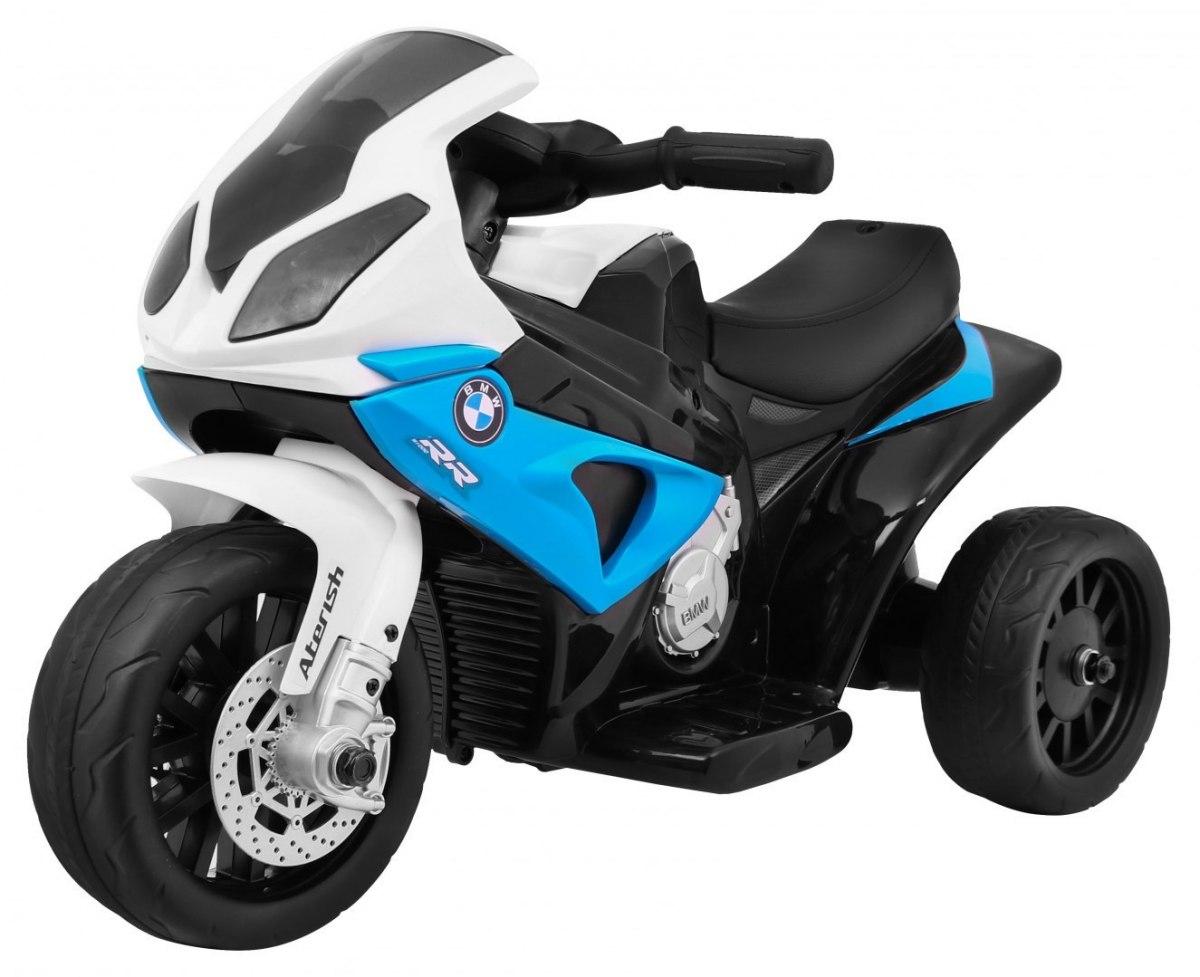 RkToys BMW S1000 RR dětská elektrická motorka - modrá