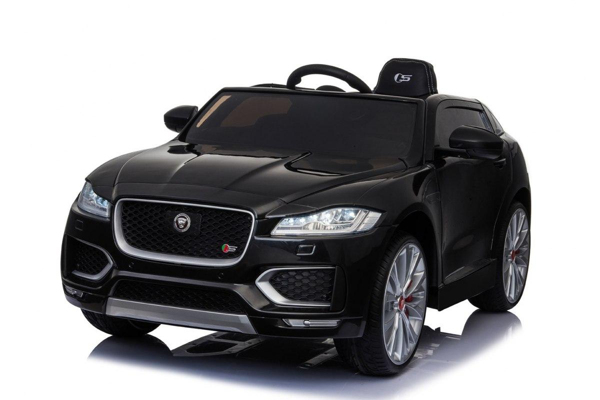 Jaguar dětské elektrické auto lakované - Černá