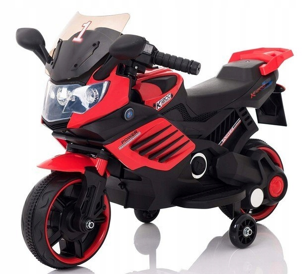 Dětská elektrická motorka SuperBike ledy