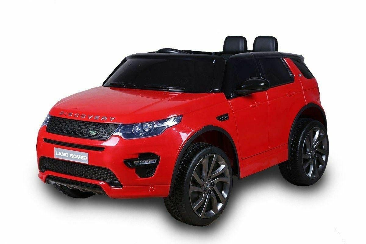 Land Rover Discovery dětské elektrické auto - Červená