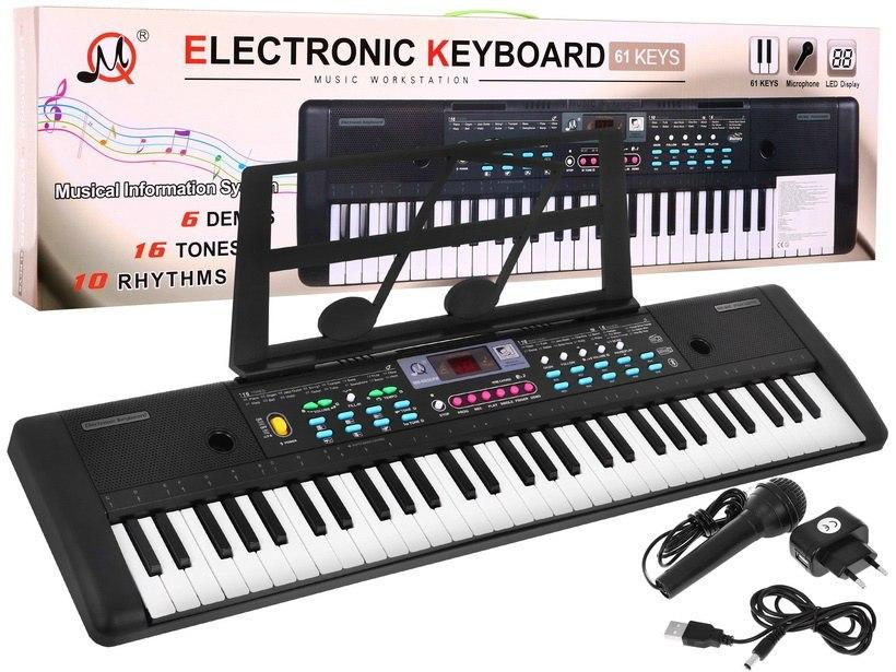 Přenosné klávesy s mikrofonem