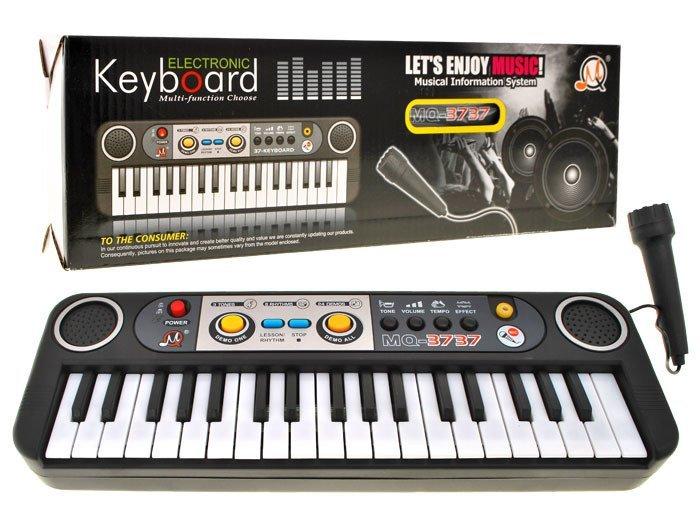 Přenosné klávesy MQ3737 s mikrofonem