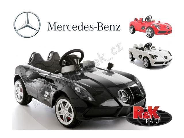 Dětské elektrické autíčko Mercedes-Benz SLR McLaren sport auto