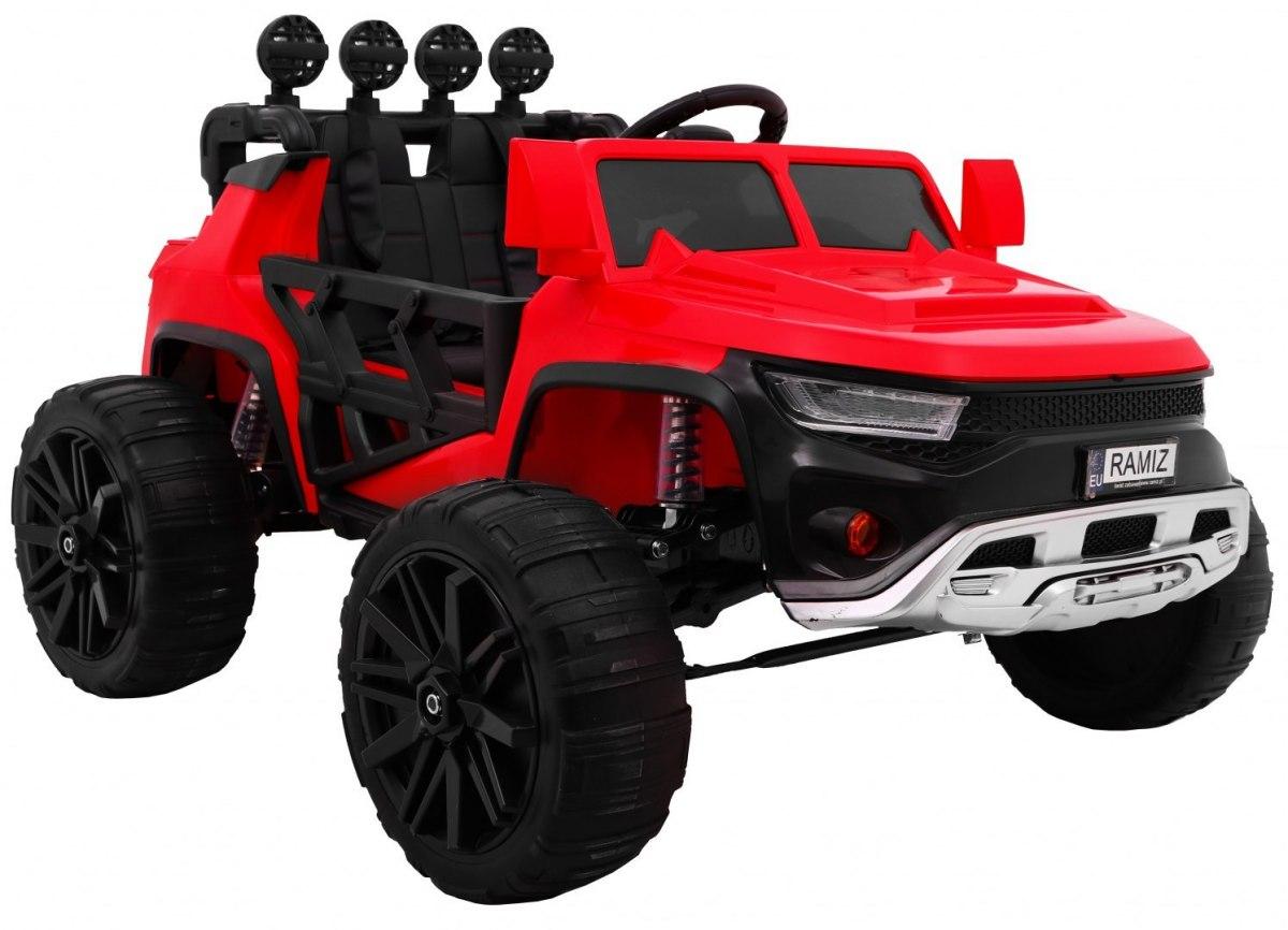 OVERSPEED dětské elektrické auto - Červená