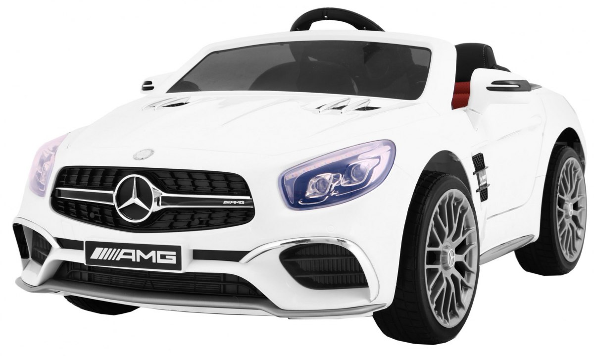Mercedes AMG SL-65 dětské elektrické auto - Bílá