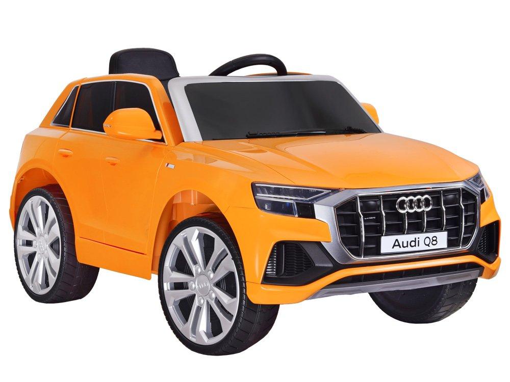 Audi Q8 dětské elektrické auto - oranžová