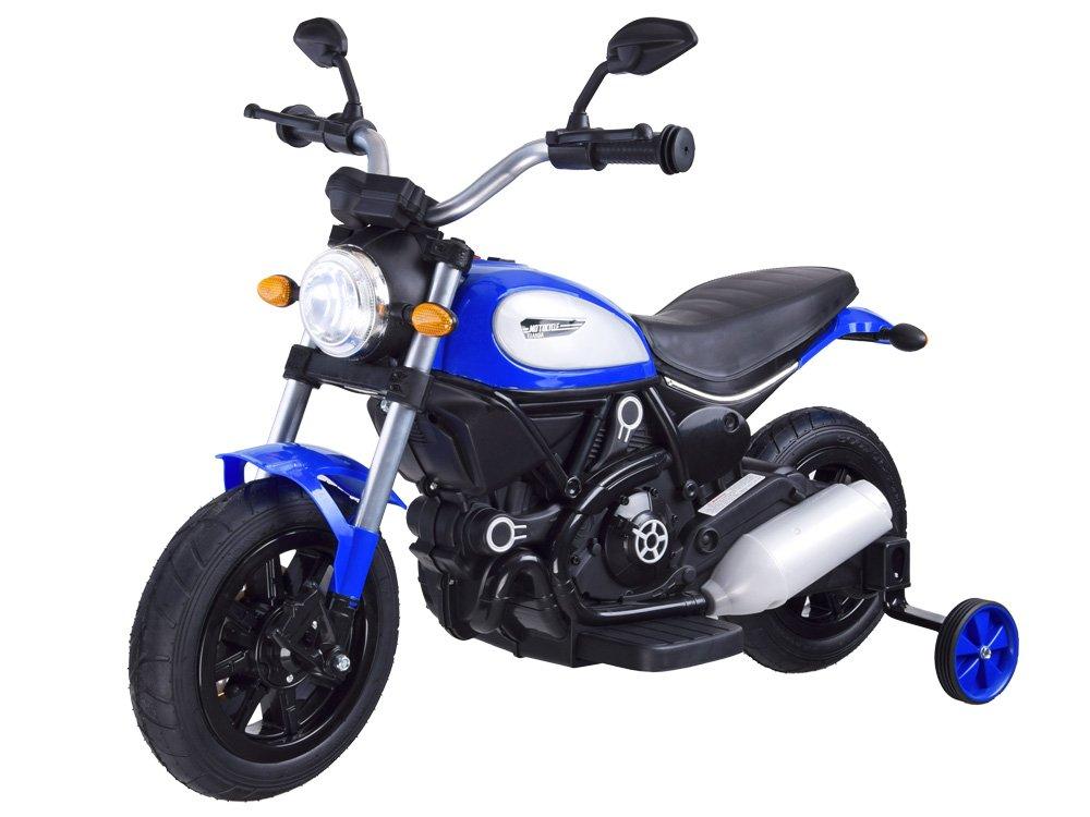 Dětská elektrická motorka Street Bob Blue