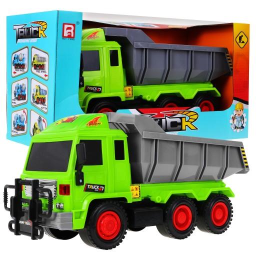 Vyklápěcí nákladní stavební auto