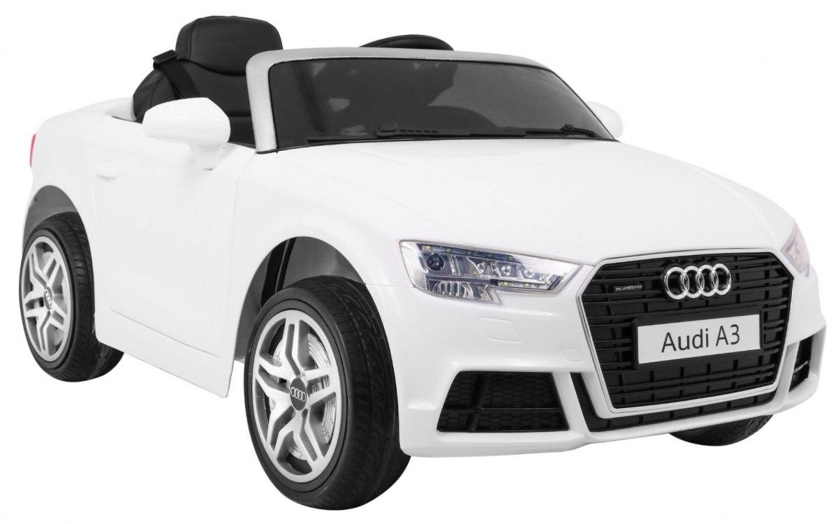 RKToys Audi A3 dětské elektrické auto - Bílá