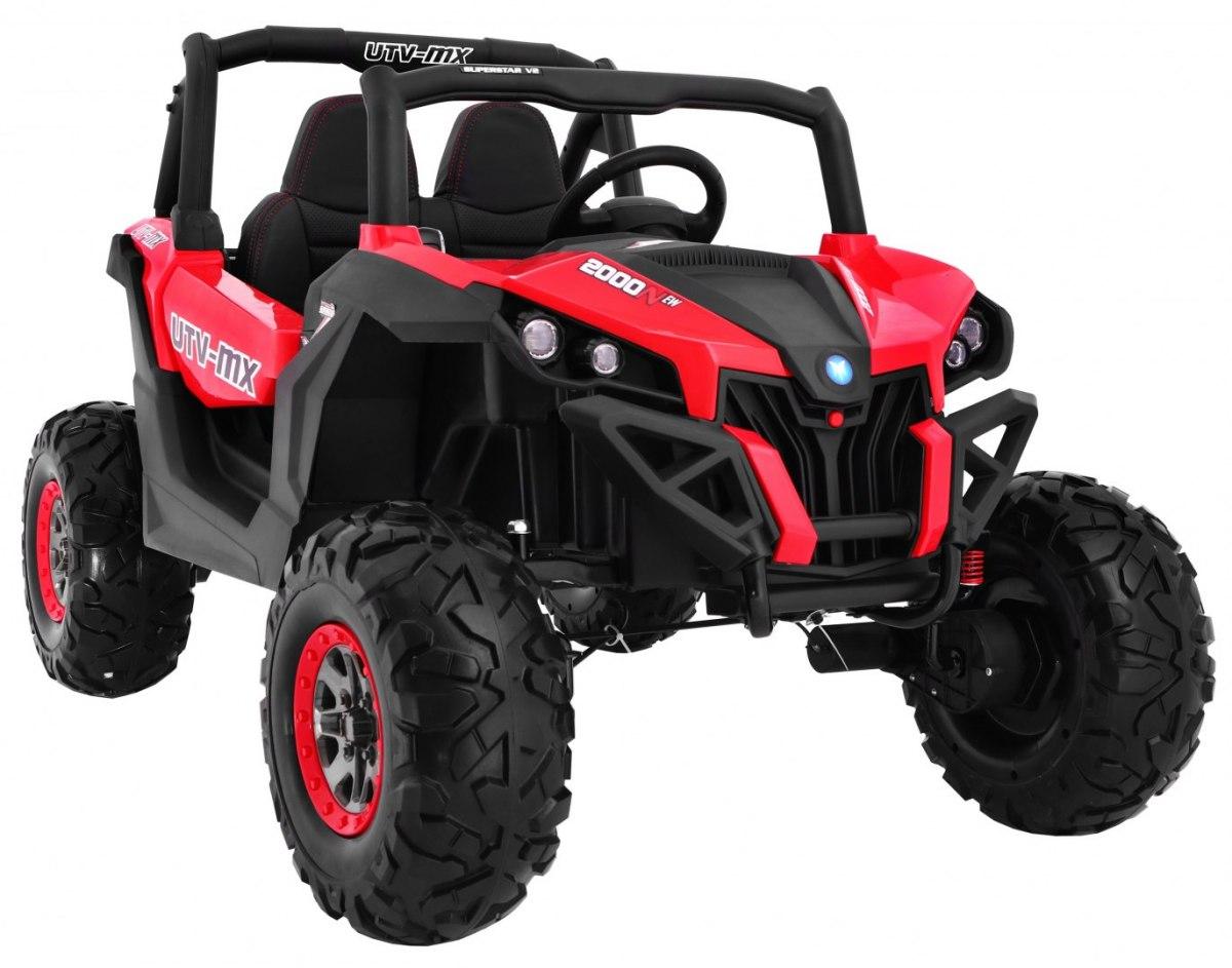 RKToys BUGGY dětské elektrické auto 4x4 - Červená