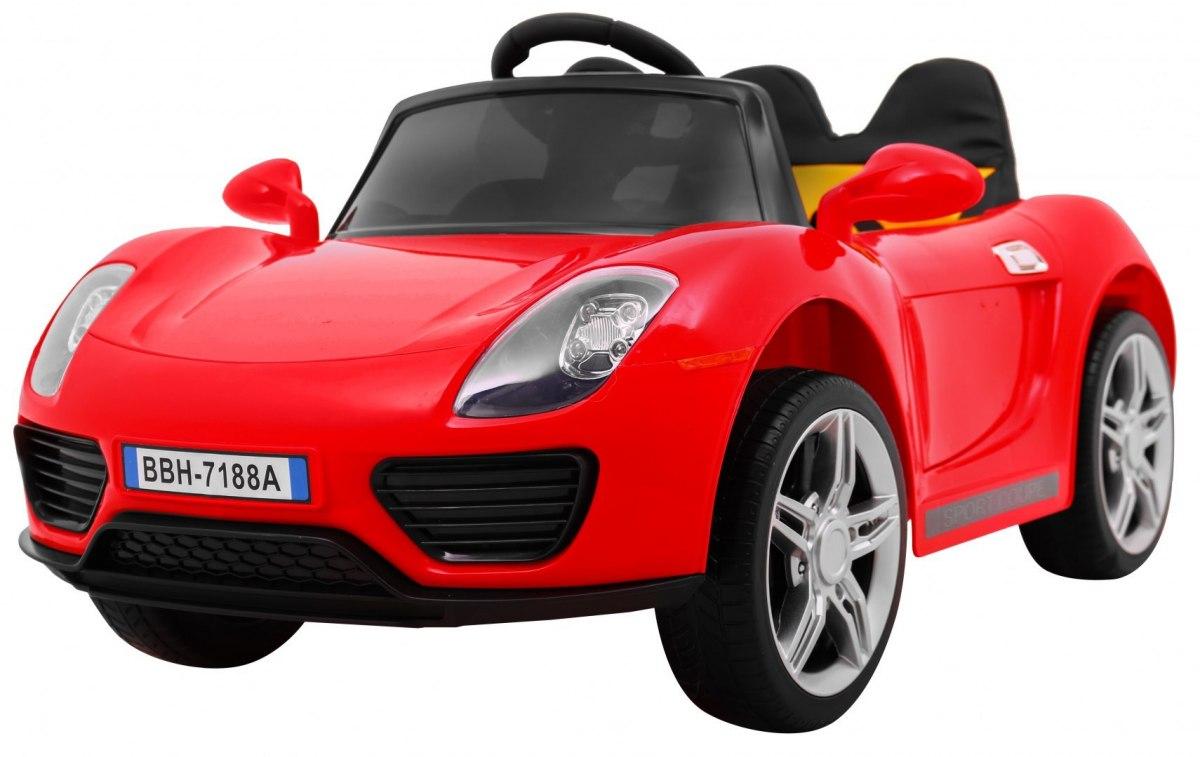 RkToys SPORT dětské elektrické auto - Červená