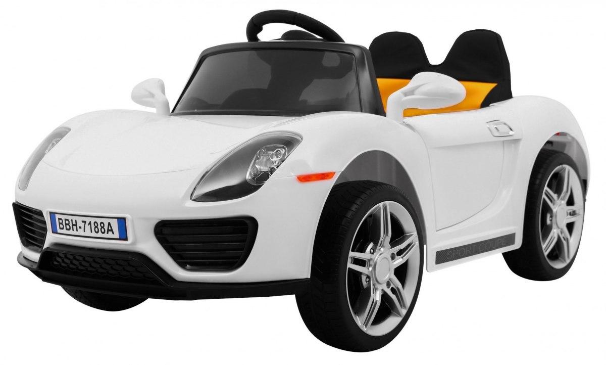 RkToys SPORT dětské elektrické auto - Bílá