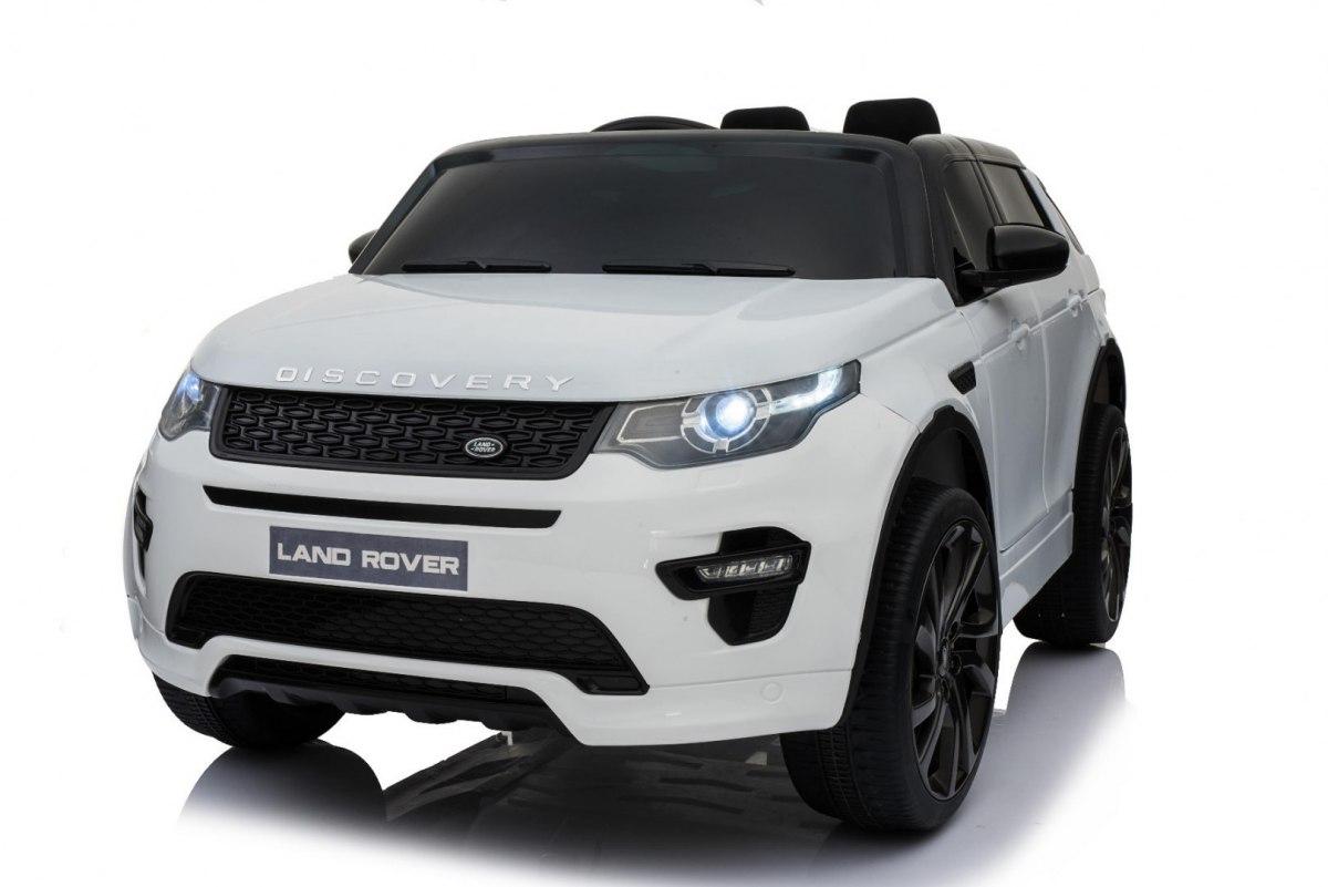 Land Rover Discovery dětské elektrické auto - Bílá