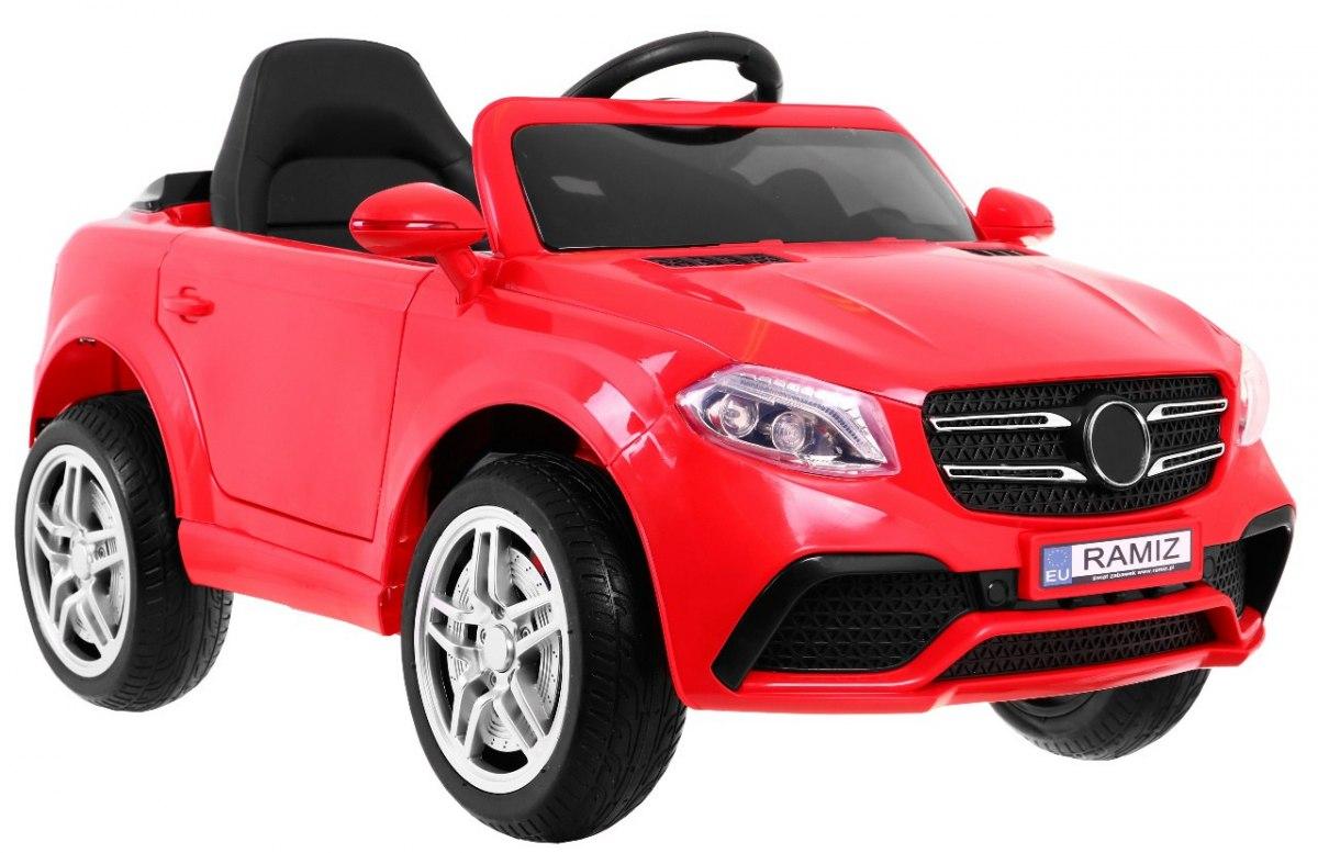 PassionS dětské elektrické auto - Červená