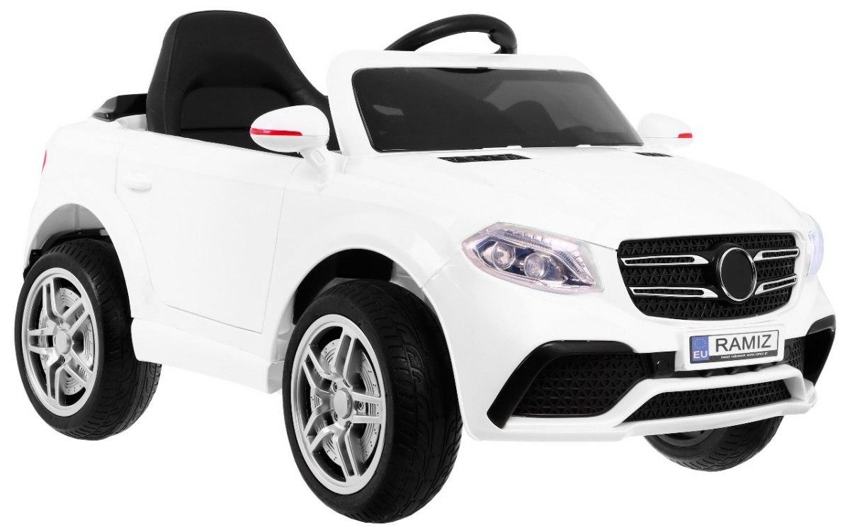 PassionS dětské elektrické auto - Bílá