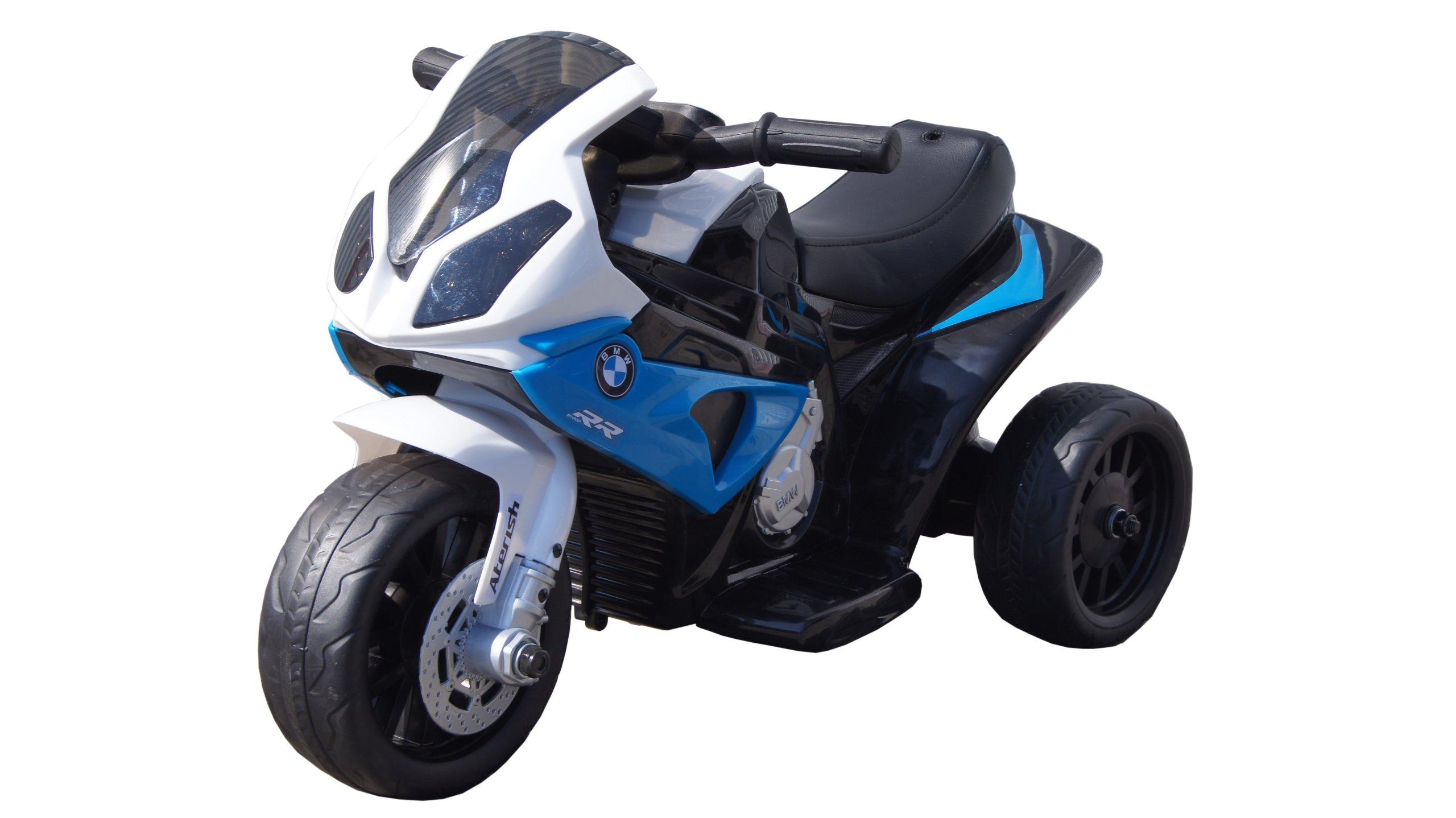 Výkonná elektrická licenční motorka BMW