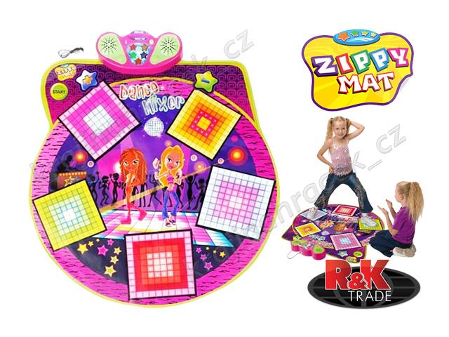 Taneční podložka hra twister dance mixer playmat