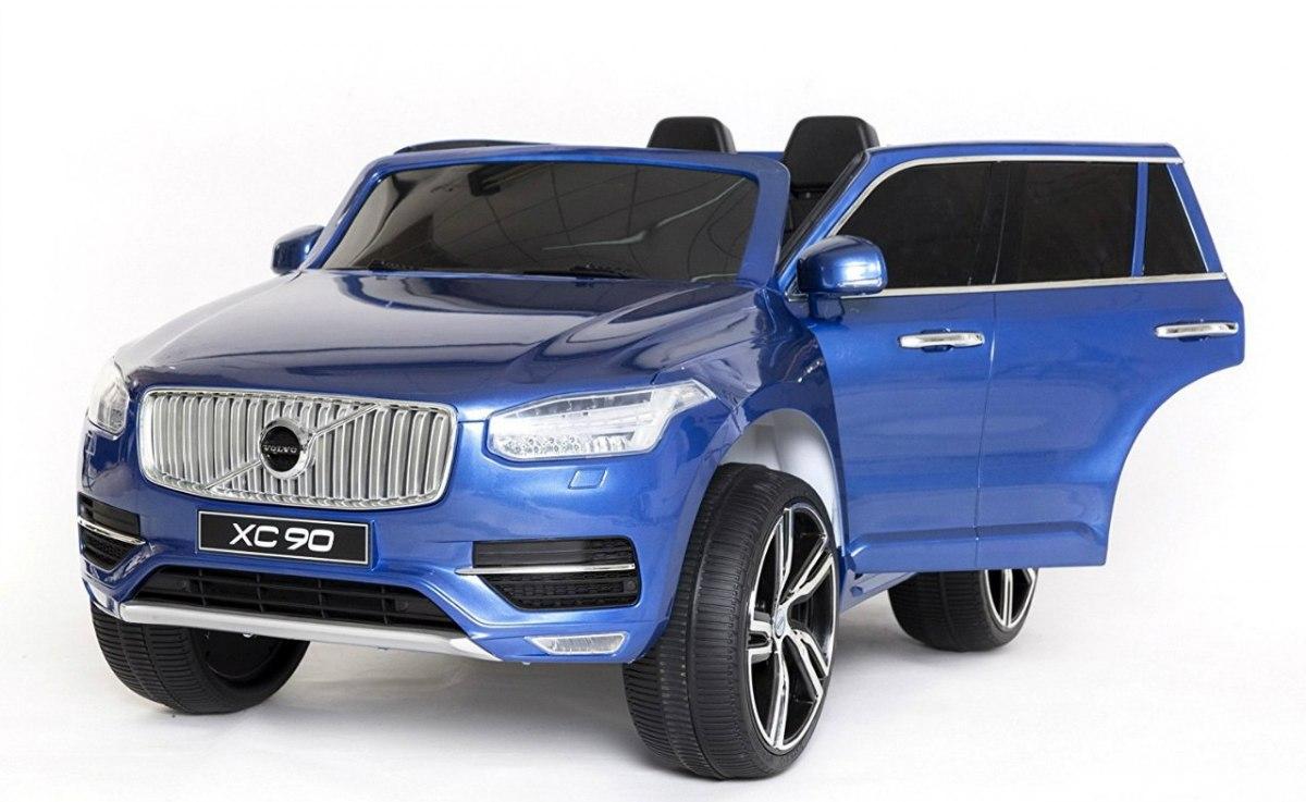 VOLVO XC90 dětské elektrické auto lakované - modrá