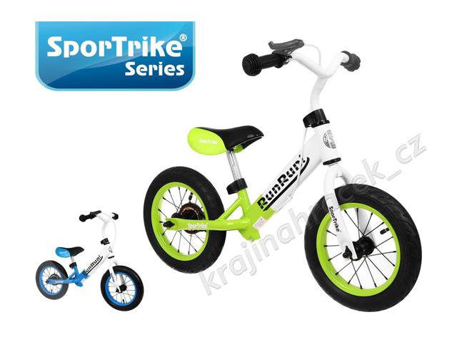 Dětké kovové odrážedlo Sportrike Run Run nafukovací kola