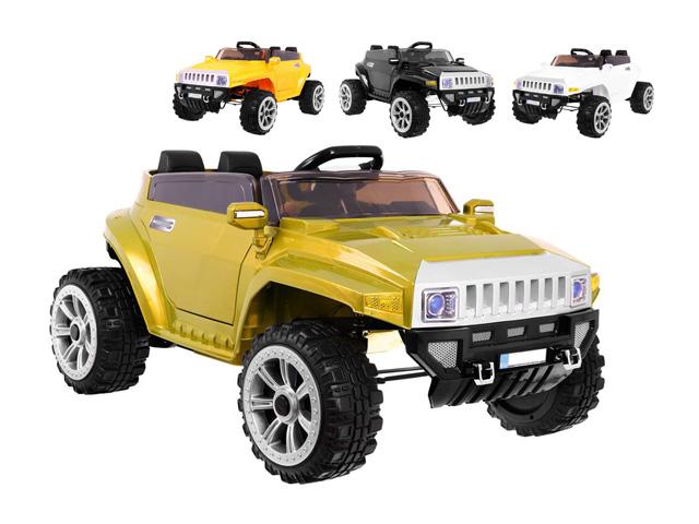 Obrovské dětské elektrické auto Jeep HUM-V