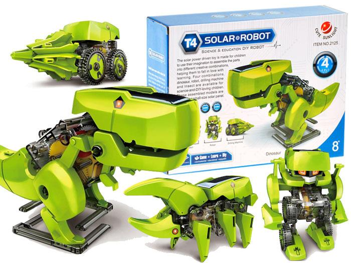 Solární sada Dino 4v1