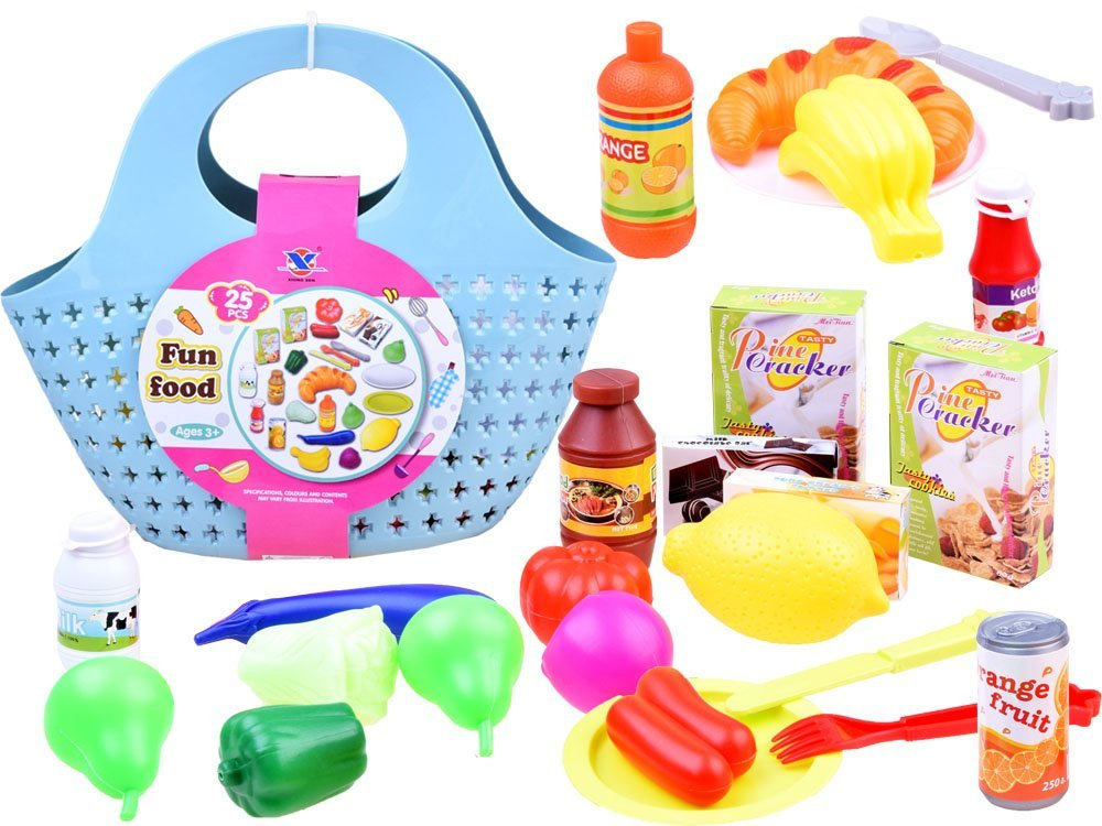 JOKO Nákupní košík s potravinami