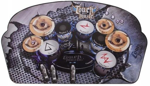 Hudební hrací podložka bubny hrající bubínky pro děti bicí