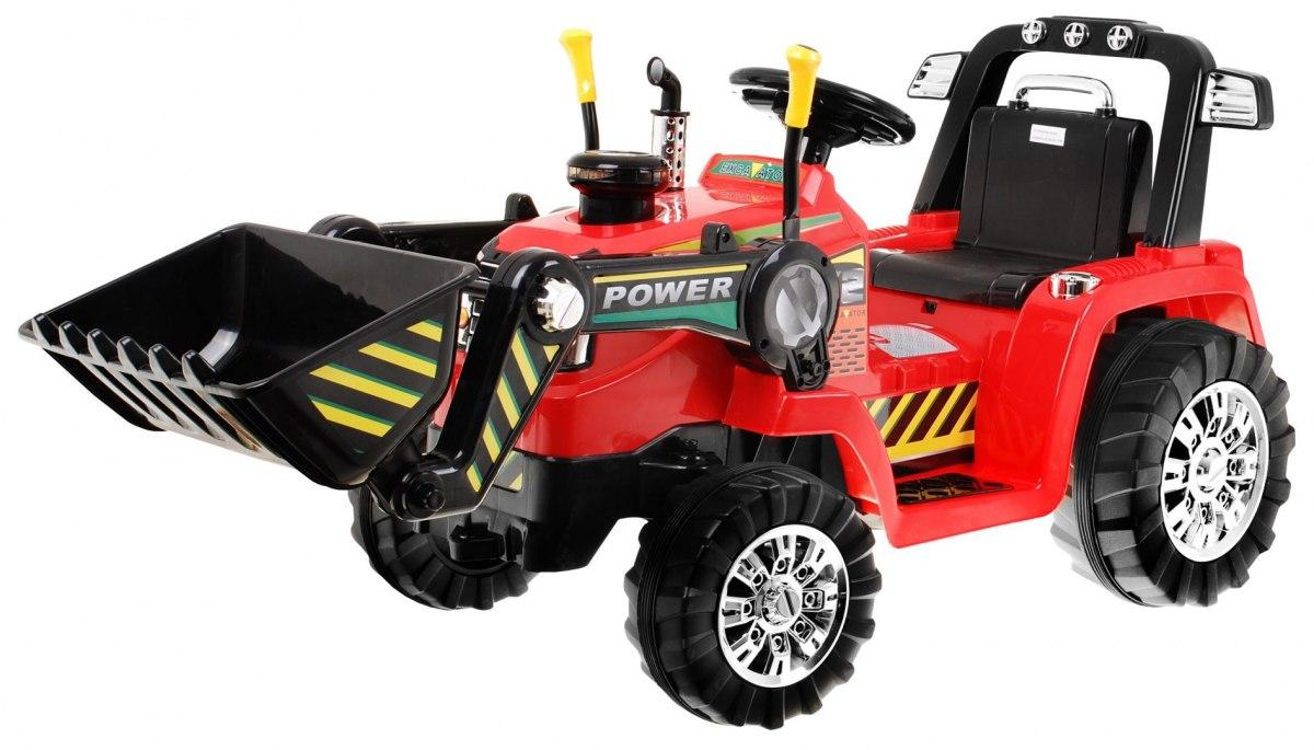 Dětské elektrické autíčko auto vozítko bagr