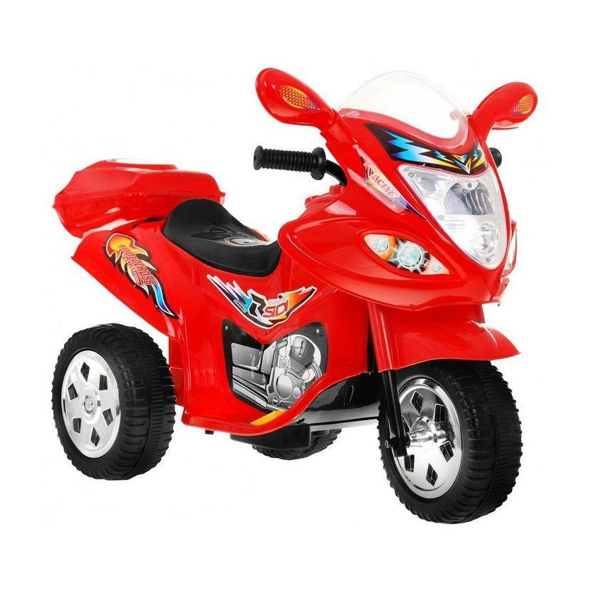 Dětská elektrická závodní motorka