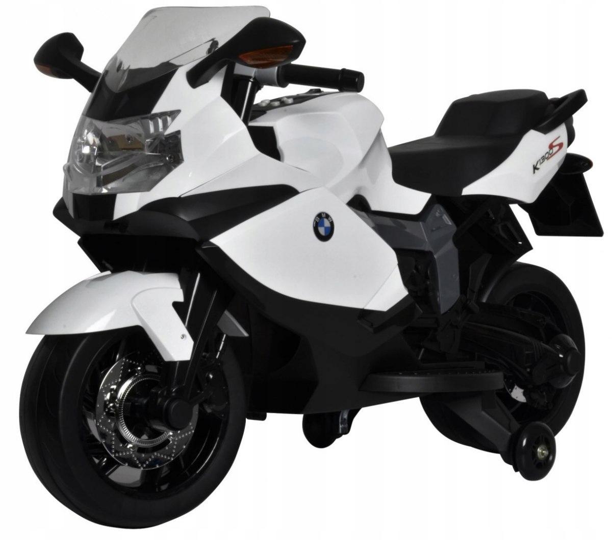 BMW K1300S elektrická motorka - bílá