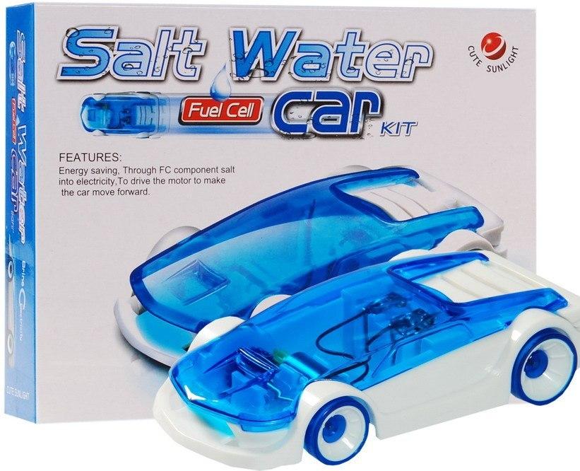Ekologické auto s pohonem na slanou vodu