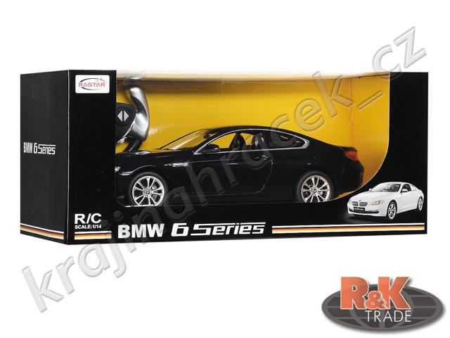 Rastar BMW 6 1:14 auto autíčko na dálkové ovládání R/C