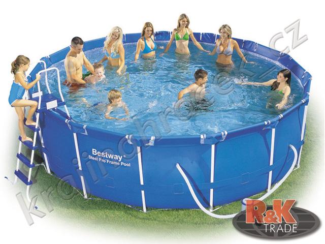 Bestway zahradní bazén 457 / 122 cm 6 v 1 56438