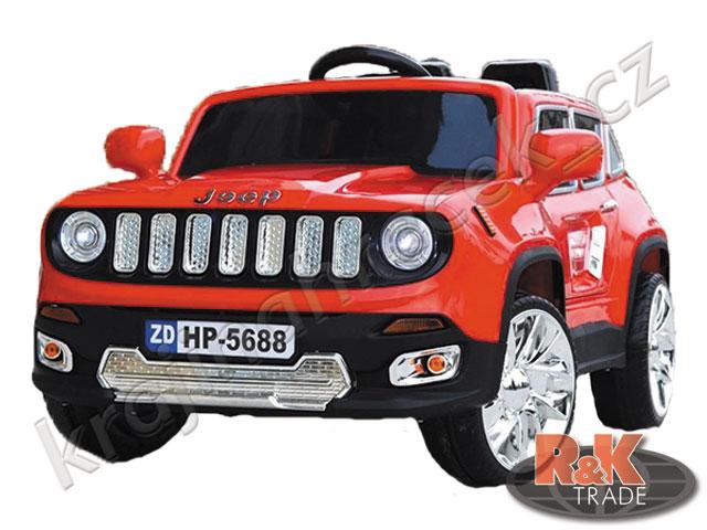 Dětské elektrické autíčko auto JEEP s pěnovými koly