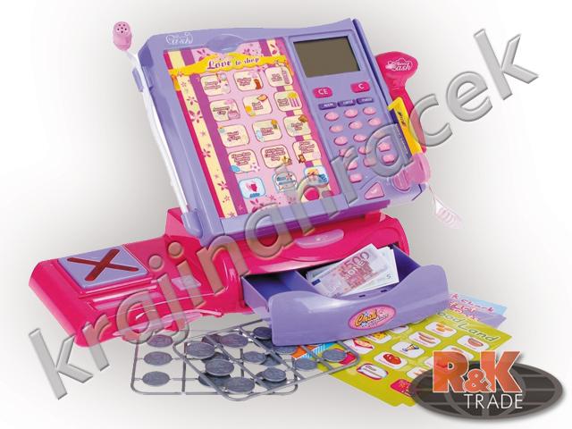 Dětská elektronická dotyková pokladna + váha