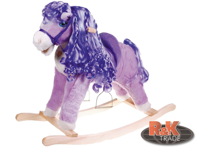 Houpací kůň ponny světlo zvuk