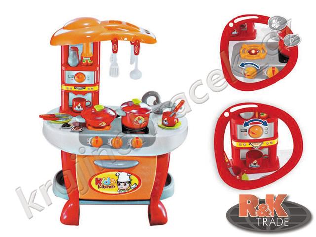 Dětská kuchyňka s pecí a efekty