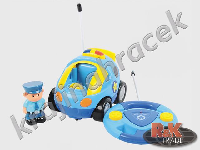 Policejní autíčko auto na dálkové ovládání policie
