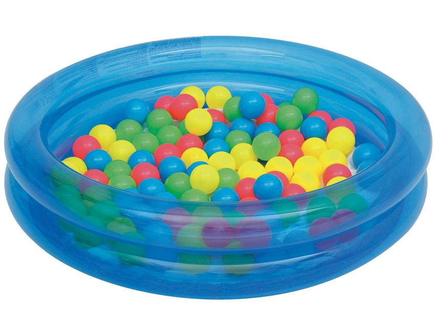 Bestway dětský nafukovací bazének s míčky na ven i dovnitř