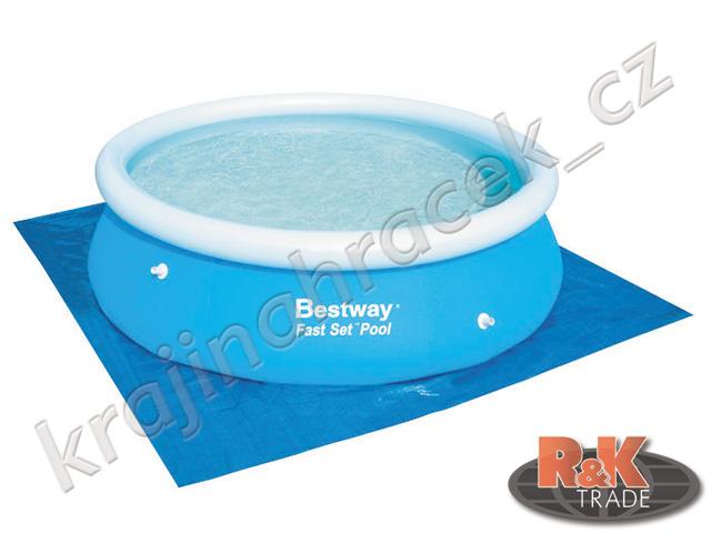 Bestway podložka plachta 274 x 274cm pod bazén 244 cm 58000