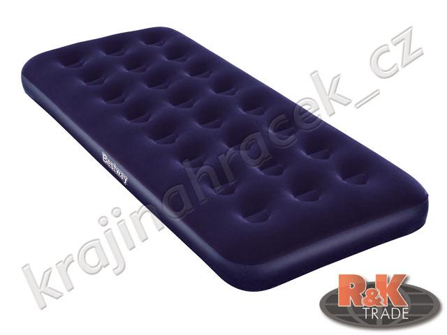 Bestway pohodlné nafukovací lehátko matrace SINGLE 185/76/22 cm 67000