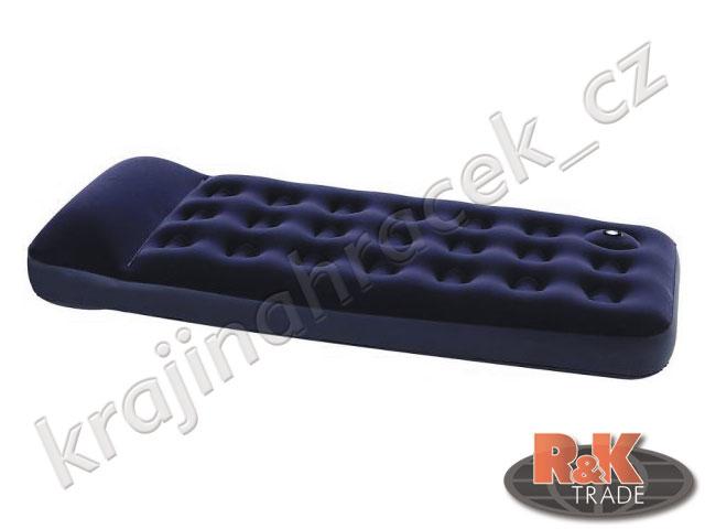 Bestway pohodlné nafukovací lehátko matrace SINGLE 185/76/22 cm 67223