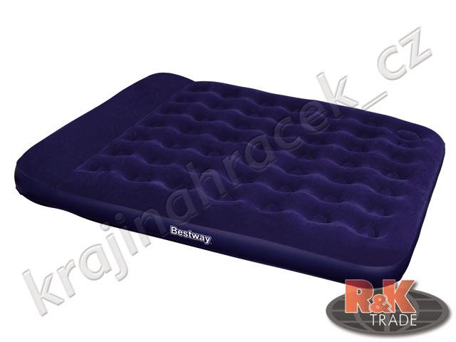 Bestway pohodlné nafukovací lehátko matrace QUEEN 203/152/22 cm 67226