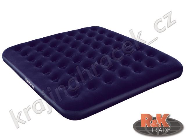 Bestway pohodlné nafukovací lehátko matrace KING 203/183/22 cm 67004