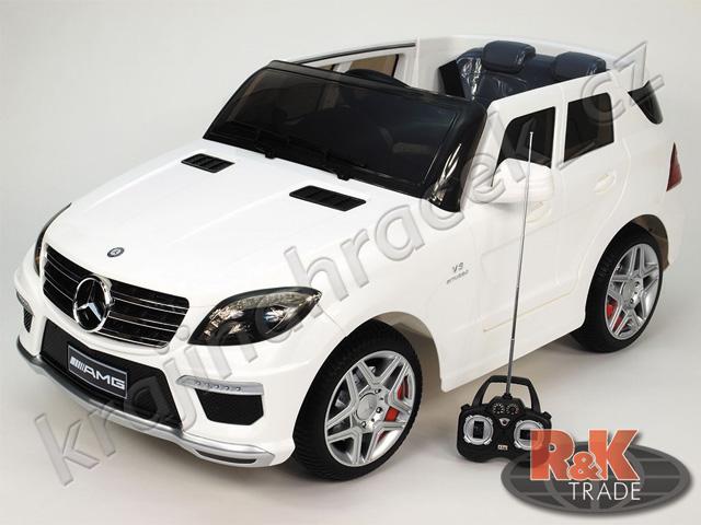 Velké dětské elektrické autíčko auto Mercedes ML63