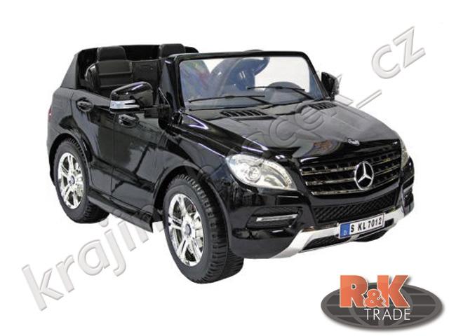 Velké dětské elektrické autíčko auto Mercedes ML350 pro 2 lakovaný
