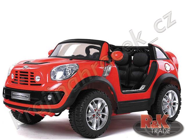 Dětské elektrické auto autíčko Mini Cooper pro 2 děti