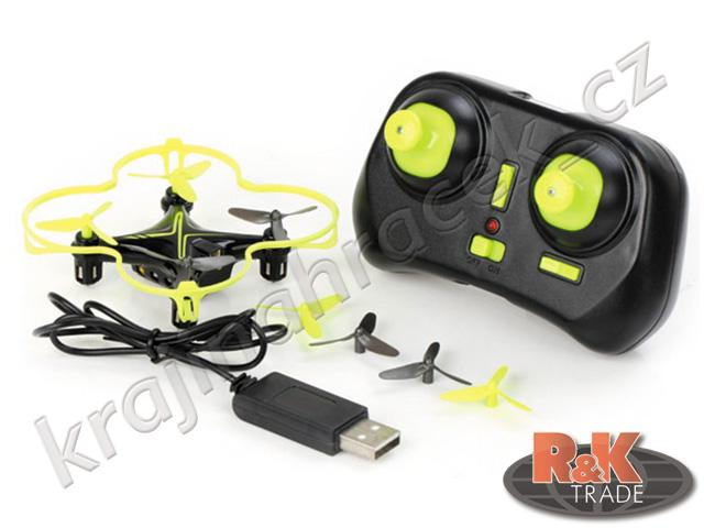Dron quadrocopter na dálkové ovládání R/C