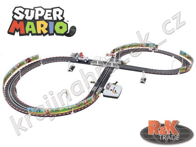 Dětská závodní autodráha Super Mario dráha 295 cm
